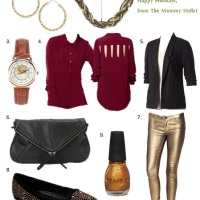What to Wear: Winter Holiday Gathering / Holiday Photos