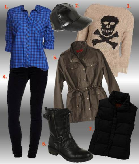 Wear these pieces together for a effortless, casual cool ensemble. (Photos courtesy of retailers)
