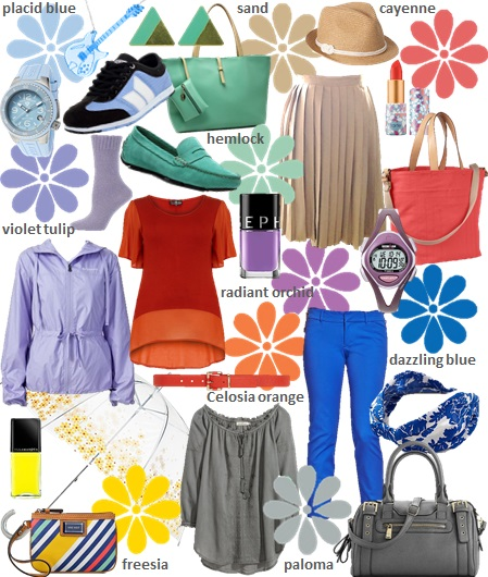Pantone, spring, color, forecast, shopping, clothes, budget, cheap, fashion, mom, style