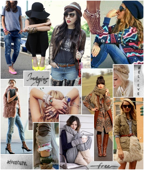 Use a style board to find your personal style / WWW.MOMMYSTYLIST.COM