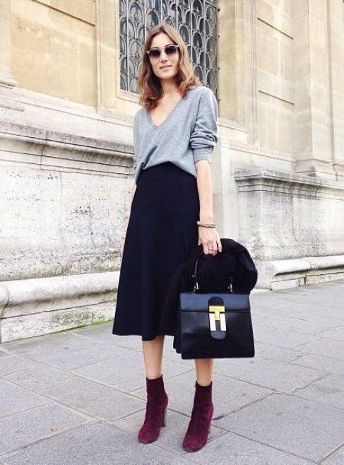 4 long skirt