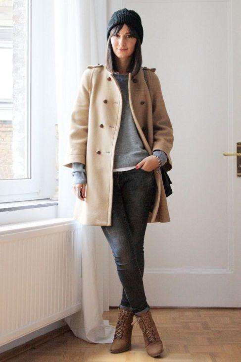 7 long beige coat