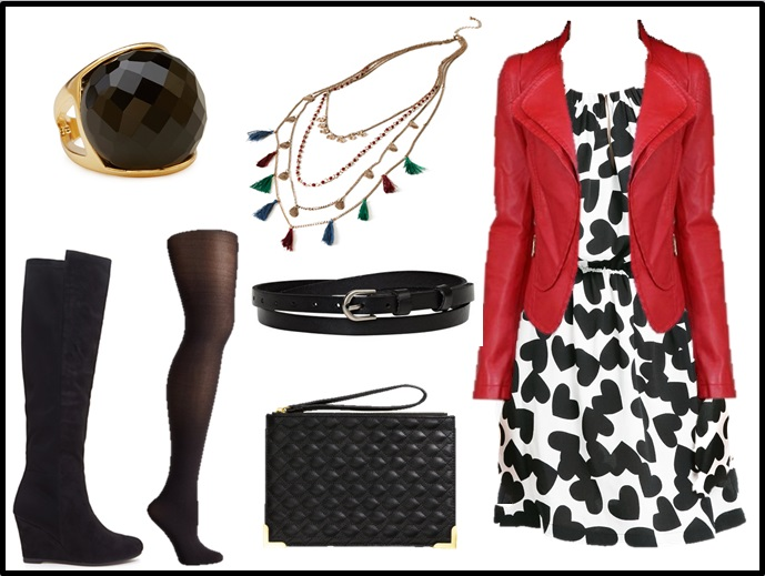 Valentine's Day, date night outfit l see this and more at WWW.MOMMYSTYLIST.COM!